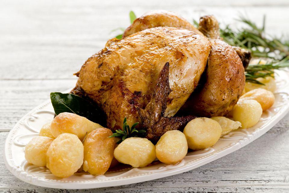In cucina - Pollo al forno