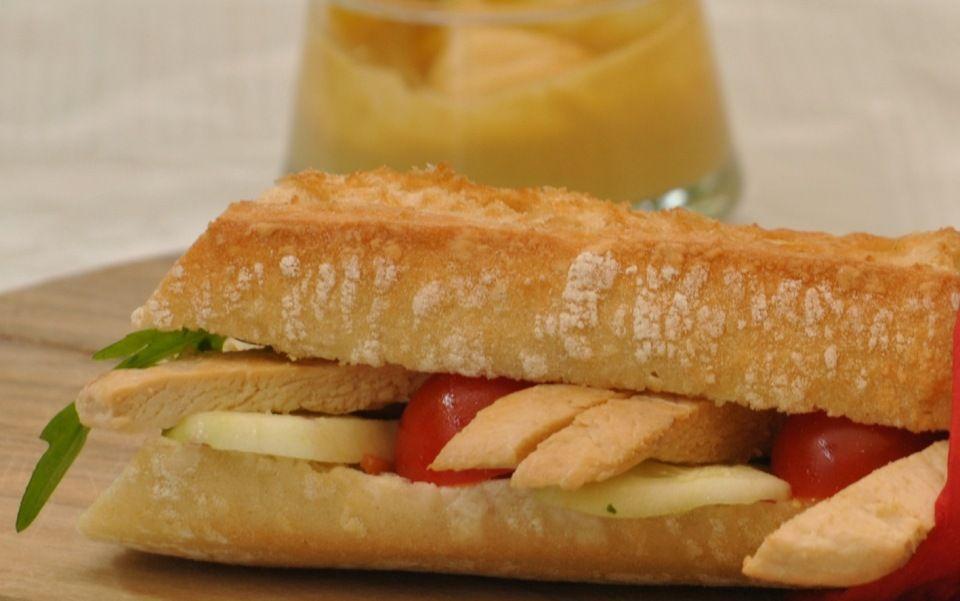 pollo_demi baguettes