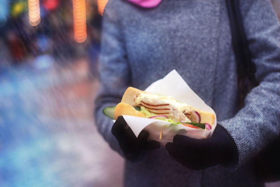 pollo street food