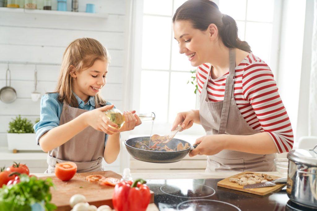 in cucina con i bambini