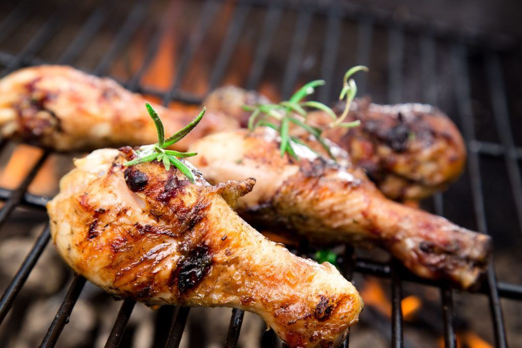 barbecue di pollo